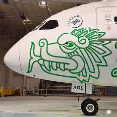 En 2014 Aeroméxico convocó un concurso donde participaron 400 diseñadores.