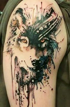 The Best Wolf Tattoos (Gallery 3) | Tattoo Designs Picture Gallery
