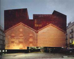CaixaForum, Madrid, Herzog & de Meuron. Foto: Roland Halbe.