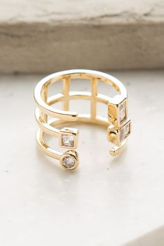 Sparkle Chic Ring in Gold | ShopDressUp.com