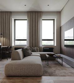 Best modern interior design ideas, modern home decor tips Apartment Interior Design, Living Room Interior, Modern Interior Design, Living Room Decor, Interior Decorating, Scandinavian Style Home, Location Villa, Beautiful Sofas, Loft Interiors