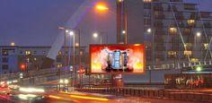 Forrest Media instala la primera pantalla #led outdoor de 8mm de Daktronics en Europa