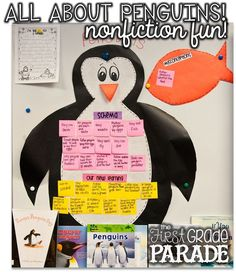 Penguins!!! (And A Couple of Walruses, Too) We always start out our unit of learning by activating our schema. We talk about misconceptions and new learning as well and then this stays displayed as an anchor chart throughout our penguin study.