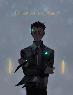 Detroit: Become Human Connor Meme funny womens amrn nwz wrqdmgmdbi Luther, South Park, Bryan Dechart, Quantic Dream, Detroit Become Human Connor, Becoming Human, Natsume Yuujinchou, I Like Dogs, A Silent Voice