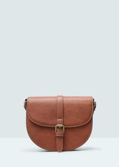 Buckled cross-body bag -  Woman   MANGO United Kingdom