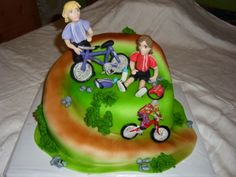 cake bicycle dort cyklisti