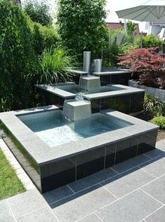 Edelstahl Teichbecken: moderner Garten von Edelstahl Atelier Crouse - Stainless Steel Atelier