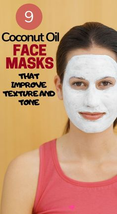 Try these coconut oil face masks made with simple, natural beauty ingredients you can find in your home. These coconut oil facials will improve the texture of your skin. This is a natural way to fight Coconut Oil Uses For Skin, Coconut Oil Facial, Anti Aging, Natural Skin Care, Natural Beauty, Natural Oil, Acne Face Mask, Cellulite, Face Treatment