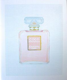 Chanel Coco Mademoiselle Art Print