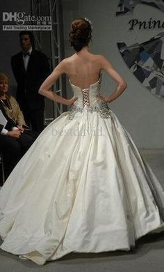 Cute Pnina Tornai wedding dress currently for sale at off retail
