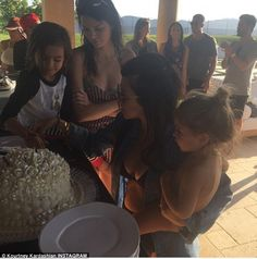 Another day, another party: Kourtney Kardashian celebrated her 36th birthday once again on...