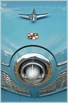 BLUE B1951 Studebaker bullet