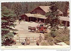 The pondarosa ranch a park based on the tv show bonanza for Lucky 4 ranch floor plan