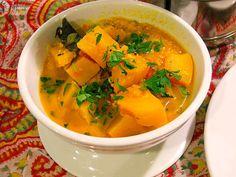 calabaza con curry