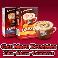 Free Sample of Hills Bros Cappuccino Mix - http://getfreesampleswithoutsurveys.com/free-sample-of-hills-bros-cappuccino-mix