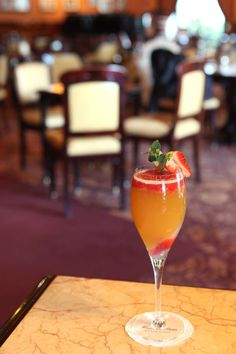 A delicious cocktail at the Bar Americain inside Hotel de Paris, Monte Carlo http://www.hoteldeparismontecarlo.com/
