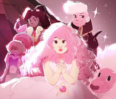 Pink is the color of mystery in SU