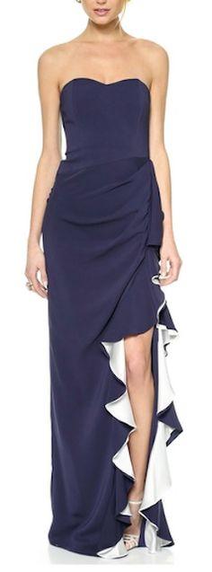 beautiful Badgley Mishka gown http://rstyle.me/n/irma9r9te