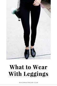 Forget sneakers—try wearing your leggings like this