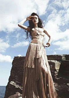Janice man high fashion shoot