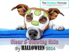 Clear & Glowing Skin by this coming Halloween. More details at www.howtotightenpores.com