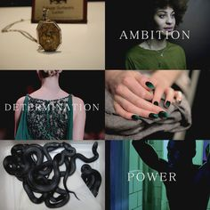 Traits of the Slytherin house...