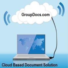#GroupDocs - A #cloud based #document  #management #system