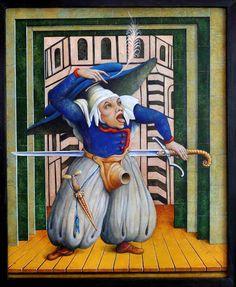 MONSTER BRAINS: Fabrizio Riccardi - Paintings Of Pantagruel