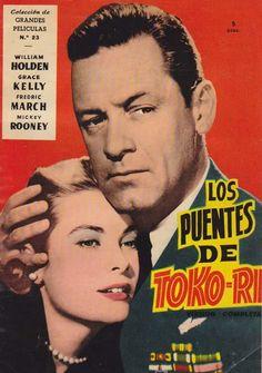 Los puentes de Toko-Ri (1954) EEUU. Dir: Mark Robson. Drama. Bélico. Guerra de Corea - DVD CINE 934