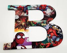 Spiderman Comic book Superhero on the Toilet Humour Poster Wall Art Hanging Print Home Décor Large Paper Flowers, Giant Flowers, Superhero Bathroom, Spiderman, Comic Art, Comic Books, Nursery Letters, Letter Wall, Hanging Wall Art
