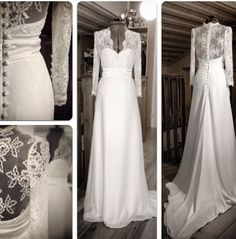 Ida Lanto bröllopsklänning