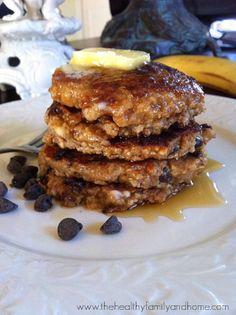Vegan-Chocolate-Chip-Oatmeal-Pancakes