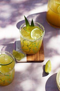 Pineapple Vanilla Bean Margaritas