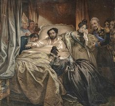 Death of King D. Pedro IV of Portugal, first Emperor of Brazil in an engraving. at the Palace of Queluz. History in this article. Dom Pedro Ii, Learn Brazilian Portuguese, Portuguese Lessons, Spain And Portugal, Italian Artist, Belle Epoque, Old Pictures, Art History, Palace