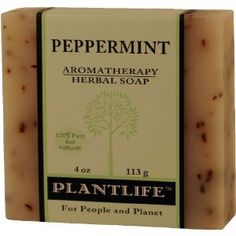 Peppermint 100% Pure & Natural Aromatherapy Herbal Soap! $3.50