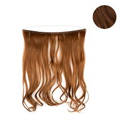 18-inch Easy-to-use Headband Extensions (Medium Brown)