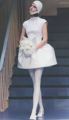 Wedding with a Pierre Cardin vintage 1960