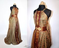 Shae Handmaiden Gown Game of Thrones Costume Dress Ros Kings Landing – Volto Nero Costumes Game Of Thrones Dress, Game Of Thrones Costumes, Narnia, Renaissance Festival Costumes, Got Costumes, Grandeur Nature, Fantasy Gowns, Fairytale Dress, Medieval Clothing