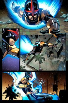 Nova! Sam Alexander! Lines by Ed McGuinness and Dexter Vines!