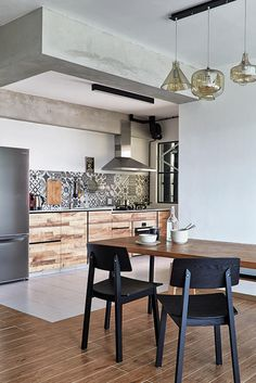 This Scandinavian-themed home keeps its decor modest without compromising on stylish features.