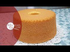 YouTube Orange Zest Cake, Orange Chiffon Cake, Vanilla Chiffon Cake Recipe, Vanilla Frosting, Beginner Baking Recipes, Flan, Mango Cake, 1 Stick Of Butter, Basic Cake