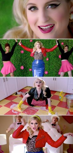 Meghan Trainor's new 50's themed music video for #DearFutureHusband premiered online yesterday. It's theatrical, colourful, playful and oozing with Doo-Wop charm.