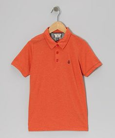 Take a look at this Pistol Punch Blackout Polo - Boys by Volcom on #zulily today!