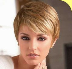 Straight Blonde Pixie Cuts for Oval Faces