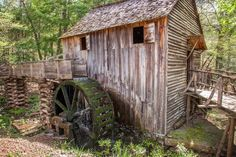 Gristmill at Cades Cove by Dave Anderson on 500px