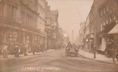 Richmond London, Richmond Upon Thames, Old London, Surrey, Old Photos, Postcards, Street View, Kingston, World