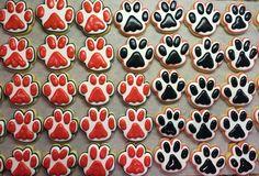 Paw Sugar Cookies