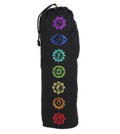 Gaiam Chakra Embroidered Yoga Mat Bag at YogaOutlet.com