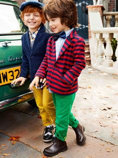 We can all learn a thing or two from these two dapper dudes! - Smile :) - Have fun - Wear more colour - Rock it with confidences!