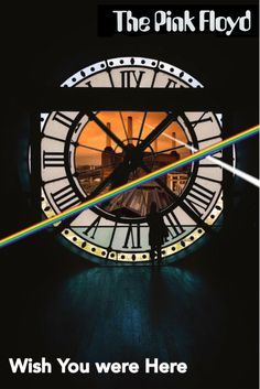Pink Floyd, Artwork #Acid Alarm Clock - Wish You were Here!!